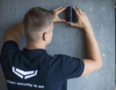 Draadloos-alarmsysteem-installatie