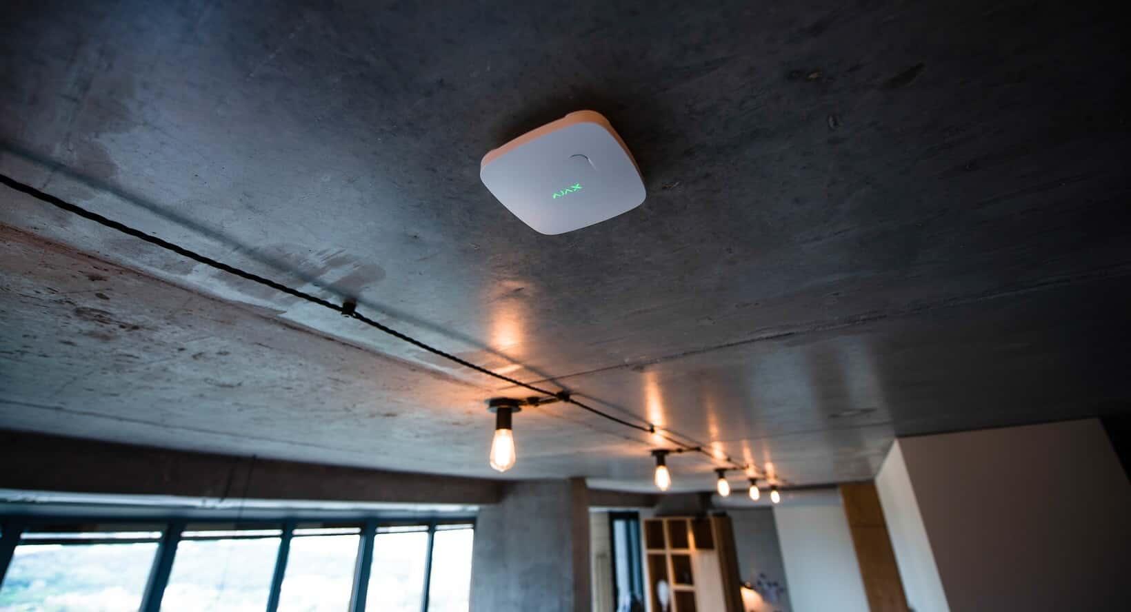 AJAX FireProtect montage plafond wit