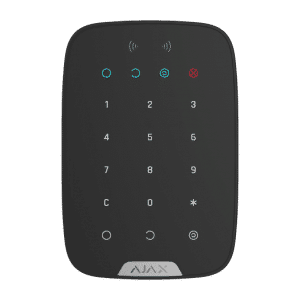 AJAX Keypad Plus zwart