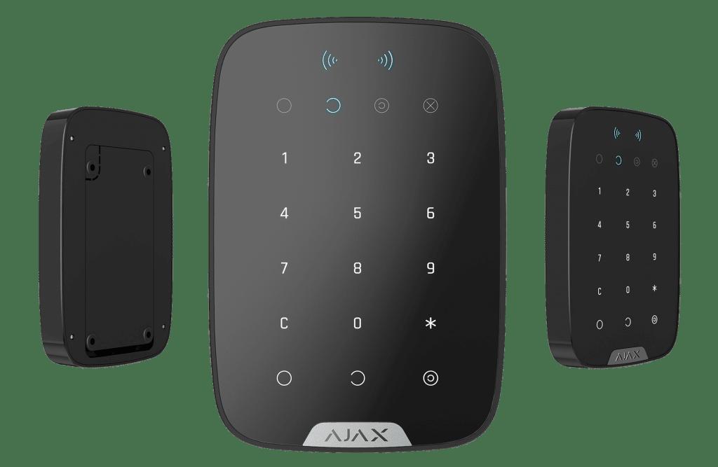 ajax alarmsysteem bedienpaneel zwart
