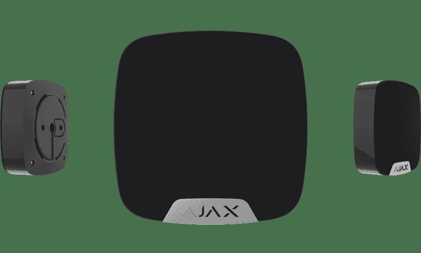 ajax binnen sirene zwart