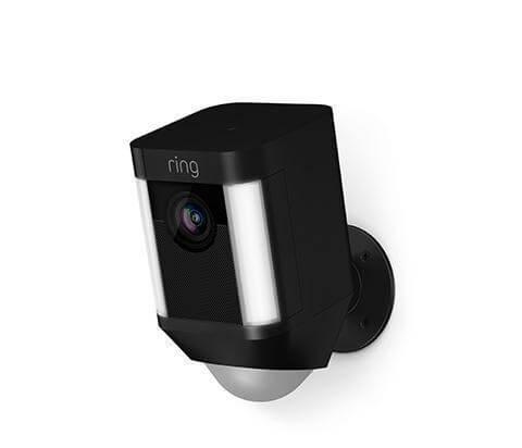 Draadloze camera zwart